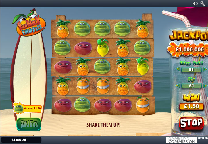 Funky Fruits — Instant Play